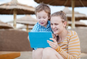 ipad, parenting, toddlers