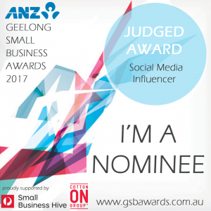 Geleong Small Business Awards Social Media Influencer